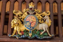 West Tytherley, St Peter's Church, William IV royal coat of arms