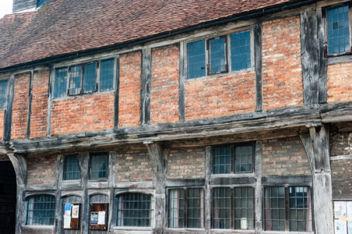 A timber-framed building in West Wycombe