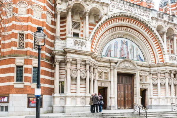Westminster Cathedral entrance