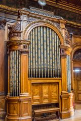 The 19th century organ in the Hall