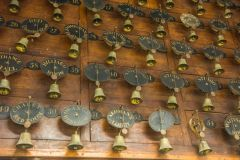 Long-lost servant's bells in the cellar