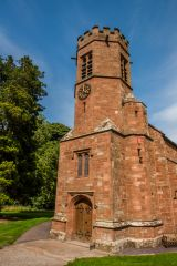 Wetheral, Holy Trinity & St Constantine Church, The hexagonal west tower