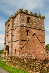 Wetheral Priory Gatehouse, The south side of the gatehouse