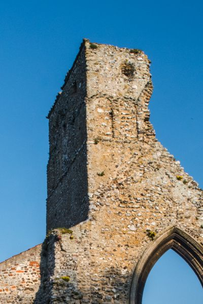 The 10th century Saxon tower