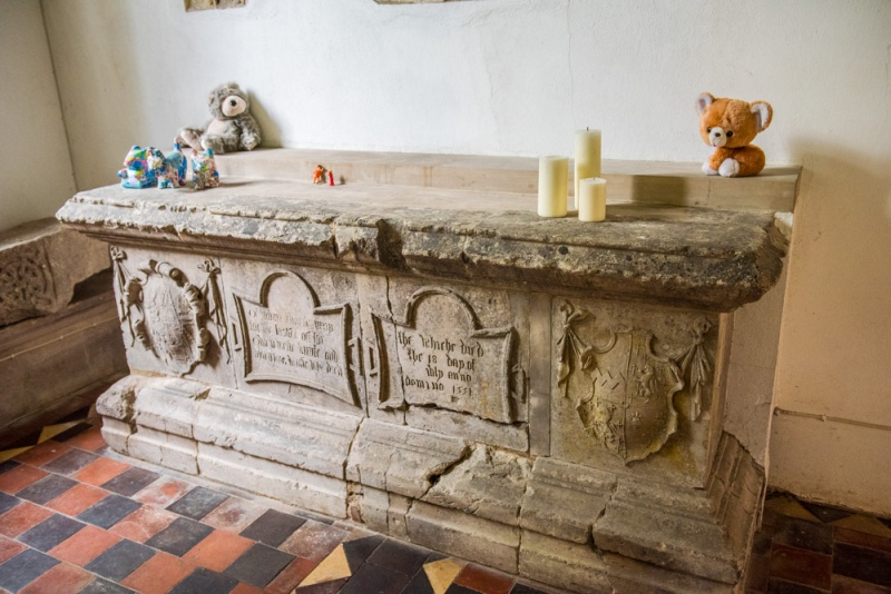 Memorial to Sir Owen West (d. 1551)