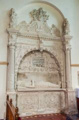 Whitchurch Canonicorum, St Candida & Holy Cross Church, Sir John Jeffrey memorial, 1611