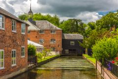 The River Test and Whitchurch Silk Mill