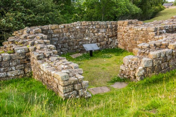 Willowford (Hadrian's Wall) photo, Turret 48A at Willowford