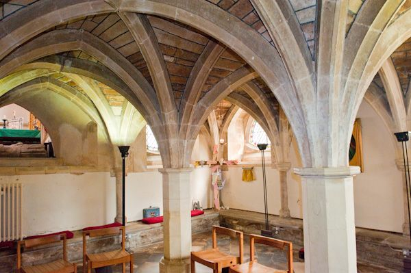 Wimborne Minster Church photo, The crypt chapel