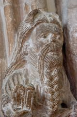 Early 12th century Moses corbel