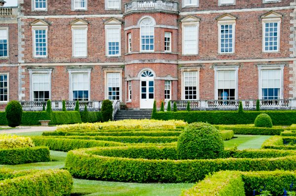 Wimpole Hall photo, The formal gardens