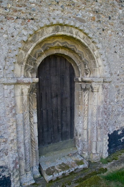 The Norman north doorway
