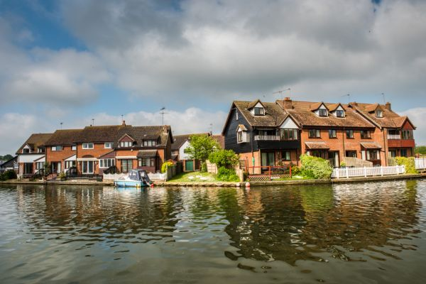Wroxham photo, The River Bure at Wroxham