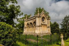 Wroxham, The Trafford mausoleum, by Anthony Salvin, 1831