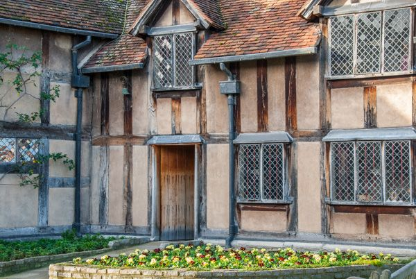 Shakespeare's Birthplace photo, The rear garden