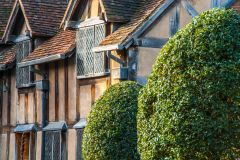 Shakespeare's Birthplace, Beautiful timber-framing on the garden frontage