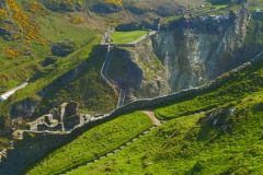 Tintagel Castle voted Most Romantic location