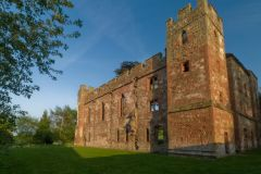 English Castles Photo Gallery, Acton Burnell Castle