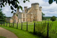 English Castles Photo Gallery, Belsay Castle