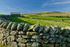 Drystone wall, Birker Fell, Cumbria