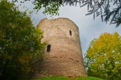 Castles of Wales Photo Gallery, Bronllys Castle