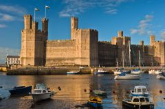 Castles of Wales Photo Gallery, Caernarfon Castle