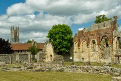 St Augustine's Abbey, Canterbury, Kent