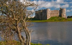 Castles of Wales Photo Gallery, Carew Castle