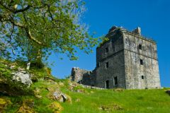 Scottish Castles Photo Gallery, Carnasserie Castle