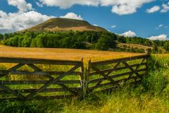 The Eildon Hills, Melrose
