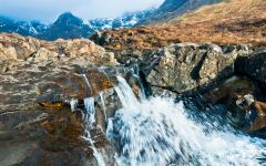 The magnificent Fairy Pools, Glen Brittle