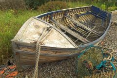 An old boat by Loch Arklet