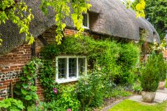 Thatched cottage, Nether Wallop, Hampshire
