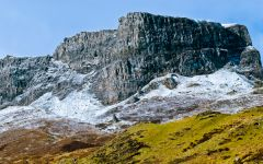The Trotternish ridge in April