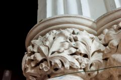 Victorian carved capital