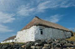 Berneray thatched youth hostel
