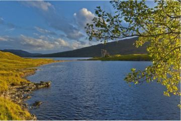 Loch Assynt and Ardvreck Castle, Sutherland