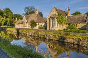 Lower Slaughter and the River Eye