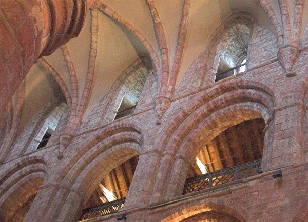 St Magnus Cathedral Photos Triforium Arcading