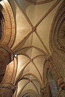 Gothic vaulting in St Magnus Cathedral