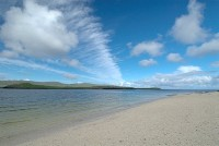 Stock photo of the Coral Beach, near Dunvegan, on the Isle of Skye, Scotland. Part of the Britain Express Travel and Heritage Picture Library, Scotland collection.