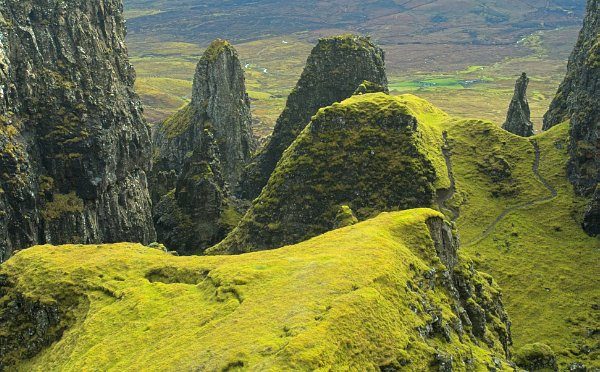 Pinnacles of the Quiraing, Isle of Skye Photo Gallery