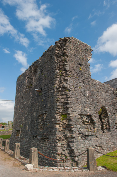 The fortified tower of Ewenny Priory