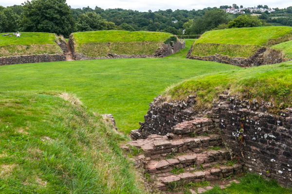 The Caerleon Roman Ampthitheatre