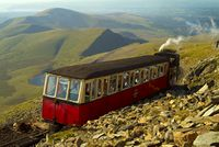 Snowdon Mountain Railway, Snowdonia National Park