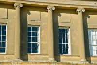 Stowe House, classical columns