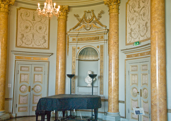 Photo of stowe house music room for Music room in house