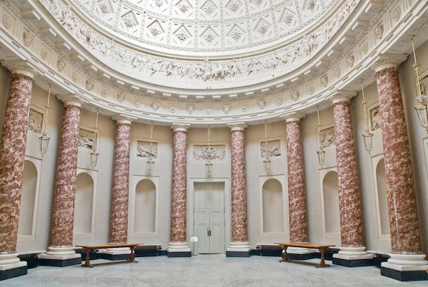 Photo Of The Marble Saloon Stowe House