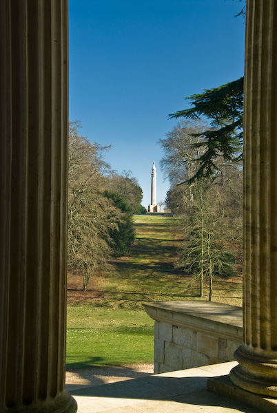 Temple of Concord and Victory, Stowe Gardens, Buckinghamshire
