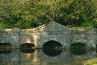 Stowe Landscape Garden, Shell Bridge